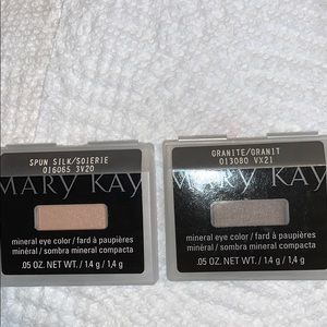 Mary Kay mineral eyecolor spun silk and granite
